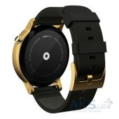 Вид 2 - Умные часы Motorola Moto 360 2nd Generation 46mm. Gold with Black Leather Band (00815NARTL)