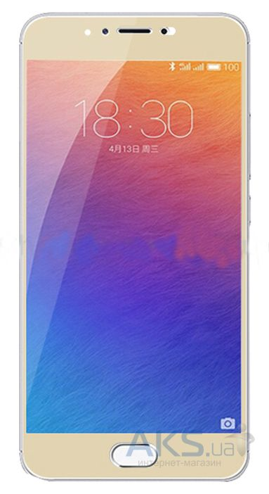 Защитное стекло Tempered Glass 3D Full Cover Meizu Pro 6 Gold