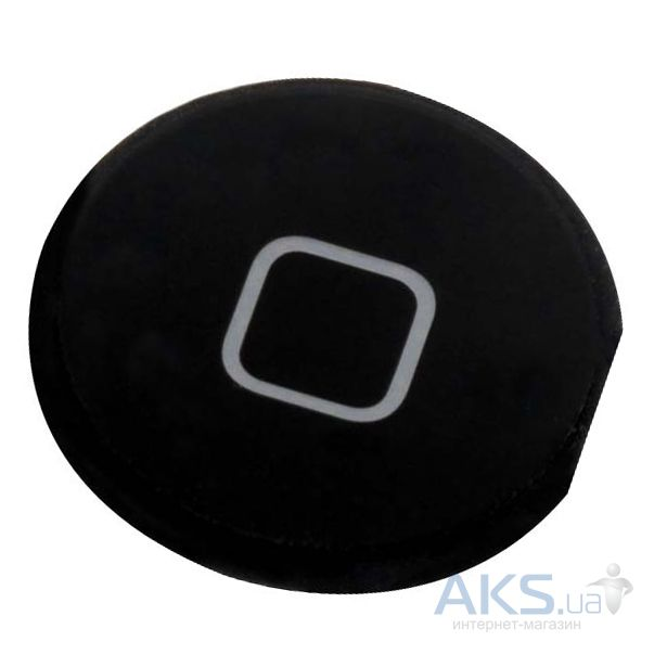 Кнопка Home для Apple iPad 2 Black