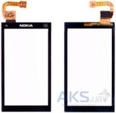 Сенсор (тачскрін) Nokia X6-00 with frame Original Black