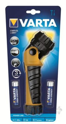 Фонарик Varta Swivel Light LED 2AA (17622101421) yellow