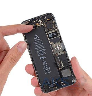 замена аккумулятора iphone 5s днепр