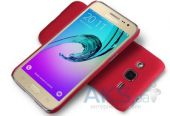 Вид 3 - Чехол Nillkin Super Frosted Shield Samsung J200 Galaxy J2 Red