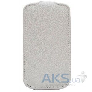 Чехол Melkco Leather Case Flip for Samsung Galaxy Gio S5660 White (SS5660LCFT1WE)