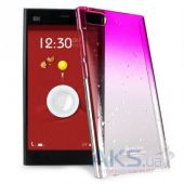Чехол IMAK Colorful Raindrop Series для Xiaomi MI3 (+ пленка) Pink