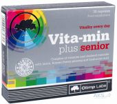Витамины OLIMP Vita-Min Plus Senior 30 капсул