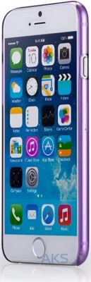 Чехол Momax Ultra Thin for Apple iPhone 6 Plus Purple (CUAPIP6LU)