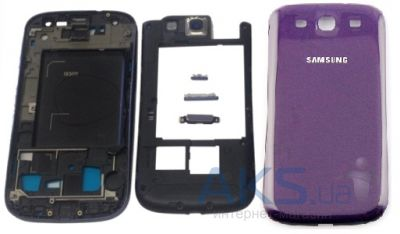 Корпус Samsung i9300 Galaxy S3 Purple