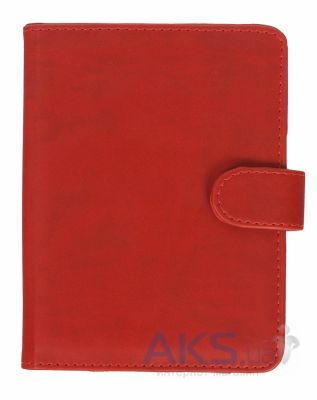 Обложка (чехол) Korka Classical Red (Ak4T-Clas-pu-rd) для Amazon Kindle Touch/Kindle Paperwhite