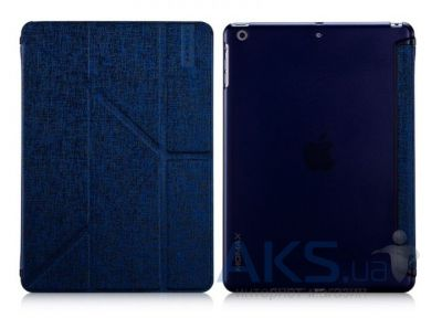 Чехол для планшета Momax Flip cover case for iPad Mini Retina Blue [FCAPIPADM2B3]