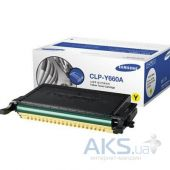 Картридж Samsung CLP-610ND/ 660N/ ND (CLP-Y660A) yellow