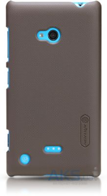Чехол Nillkin Super Frosted Shield Nokia Lumia 720 Brown