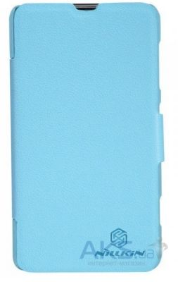 Чехол Nillkin Fresh Leather Series Nokia Lumia 625 Blue