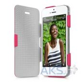 Чехол ITSkins Plume Artificial for iPhone 5/5S Pink (APH5-PLUME-PINK)