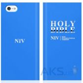 Чехол Araree Bookcover Bible Apple iPhone 5, iPhone 5S, iPhone SE Blue