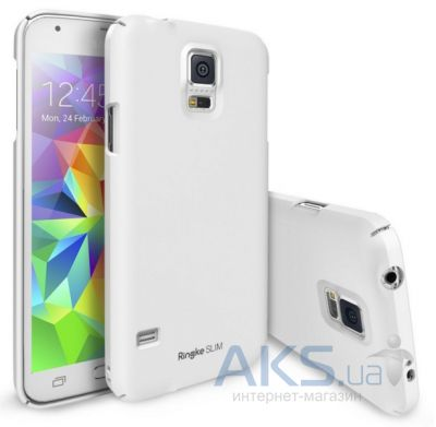 Чехол Ringke Slim для Samsung G900 Galaxy S5 Dot Pear White