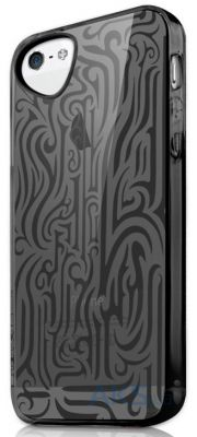 Чехол ITSkins Ink for iPhone 5/5S Black (APH5-NEINK-BLCK)