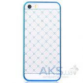 Чехол Vouni Glimmer Star Apple iPhone 5, iPhone 5S, iPhone SE Blue