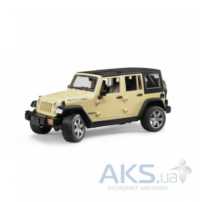 Игрушка Bruder Джип Wrangler Unlimited Rubicon М1:16 (02525)