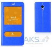 Чехол Book Cover TPU Meizu M2 Note Blue