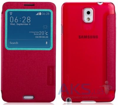 Чехол Momax Flip View case for Samsung N9000 Galaxy Note 3 Red (FVSANOTE3R)
