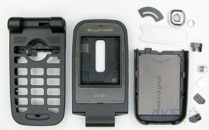 Корпус Sony Ericsson Z558i Black − купити в Києві та Україні 96bb618e0bb87