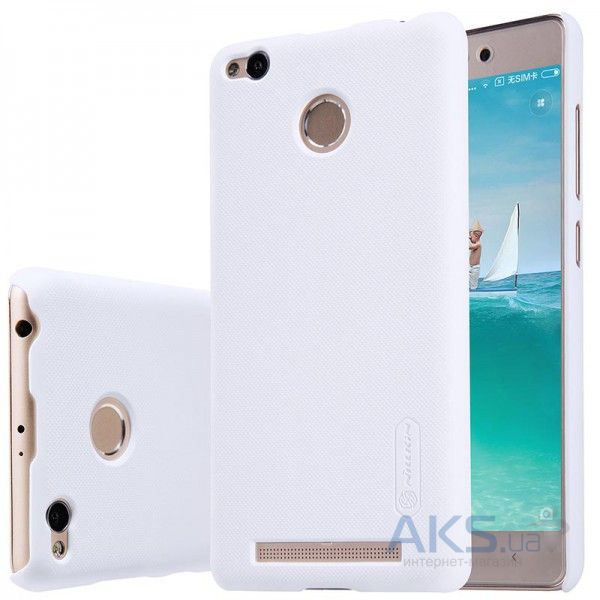 Чехол Nillkin Super Frosted Shield Xiaomi Redmi 3 Pro, Redmi 3S White