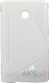 Чехол Original TPU Duotone LG E400 Optimus L3 White