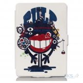 Обложка (чехол) Leather case for Amazon Kindle 6 2014 Red Lips