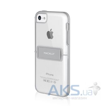 Чехол Macally Hardshell case with stand - iPhone 5C Gray (KSTANDP6-G)