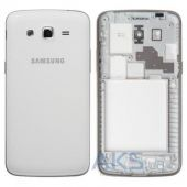 Корпус для телефону Samsung G7102 Galaxy Grand 2 Duos White