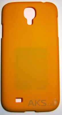 Чехол Plastic cover case for Samsung i9500 Galaxy S IV Yellow