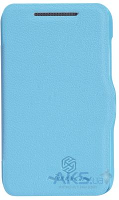 Чехол Nillkin Fresh Leather Series HTC Desire 200 Blue