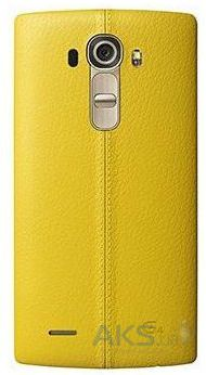 Чехол LG Leather Series G4 H818 Yellow (CPR-110)