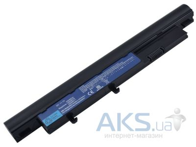 Аккумулятор для ноутбука Acer Aspire Timeline 5810T (AS09D56, AR4810LH) 10.8V 5200mAh PowerPlant Black
