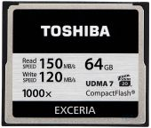 Карта памяти Toshiba 64 GB Compact Flash 1000X (CF-064GTGI(8)