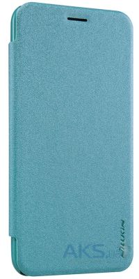 Чехол Nillkin Sparkle Leather Series Asus Zenfone 2 ZE500CL Turquoise