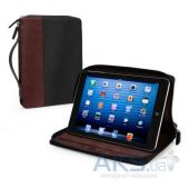 Чехол для планшета Tuff-Luv Roma Faux Leather Zip Case Cover (with Sleep Function) for the Apple iPad mini Black / Mahogany (I7_25)