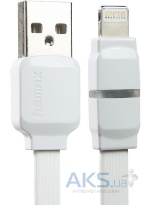 Кабель USB Remax Breathe Lightning Cable White (RC-029i)