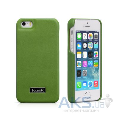 Чехол iCarer Luxury Back Cover Apple iPhone 5, iPhone 5S, iPhone 5SE Green