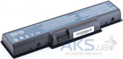 Батарея для ноутбука Acer Aspire 4732 5532 7715 eMachines D525 E627 G525 Gateway NV52 11.1V 4400mAh Black