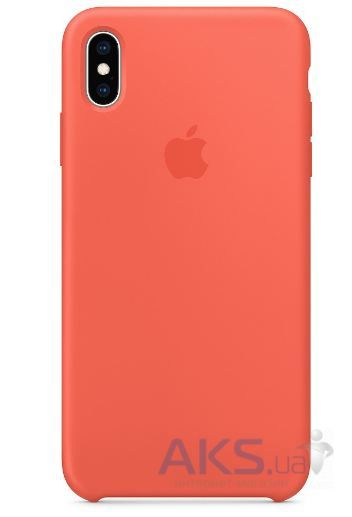 Чехол Apple Silicone Case iPhone X Nectarine_HC