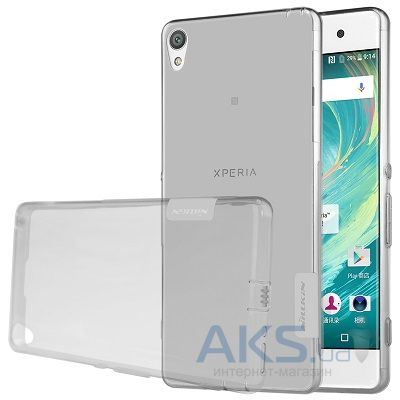 Чехол Nillkin Nature Series Sony Xperia XA, Xperia XA Dual Transparent Gray