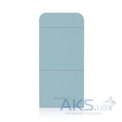Чехол Macally Flip Case W. Rotatable Stand For iPhone 5 Blue (SSTANDBL-P5)