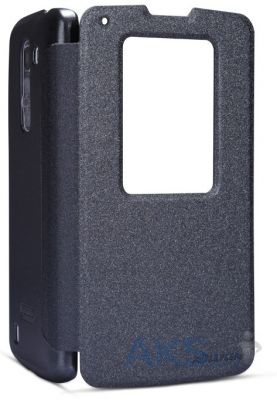 Чехол Nillkin Sparkle Leather Series LG Optimus G Pro 2 D838 black