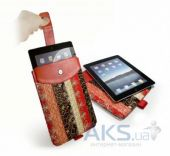 Чехол для планшета Tuff-Luv Marrakesh Pull-Tab Case Cover for iPad 2,3,4 Medina Red (E5_9)