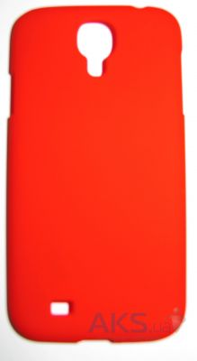 Чехол Plastic cover case for Samsung i9500 Galaxy S IV Red