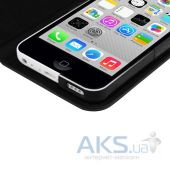 Вид 5 - Чехол Macally Slim Folio Case and Stand for iPhone 5C Black (SCOVERP6-B)