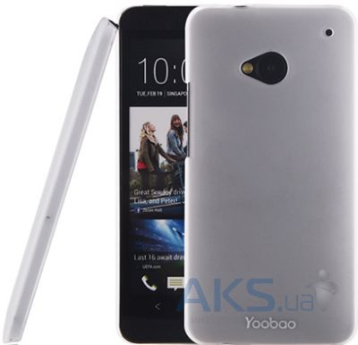 Чехол Yoobao Crystal Protect case for HTC One White (PCHTCONE-CWT)