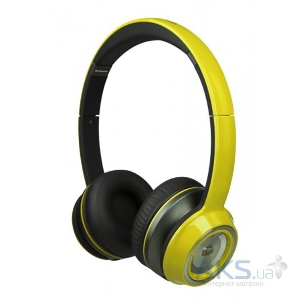 Наушники (гарнитура) Monster NCredible NTune On-Ear Headphones Solid Yellow (MNS-128518-00)
